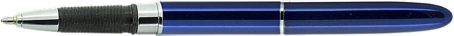 Blue Lacquer Bullet Grip w/Stylus for Touch Screens