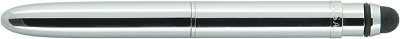 Chrome Bullet Grip Space Pen with Stylus