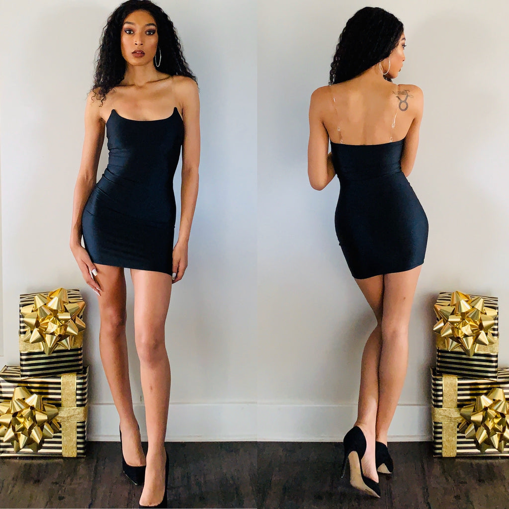 Holiday Date Night Mini Dress