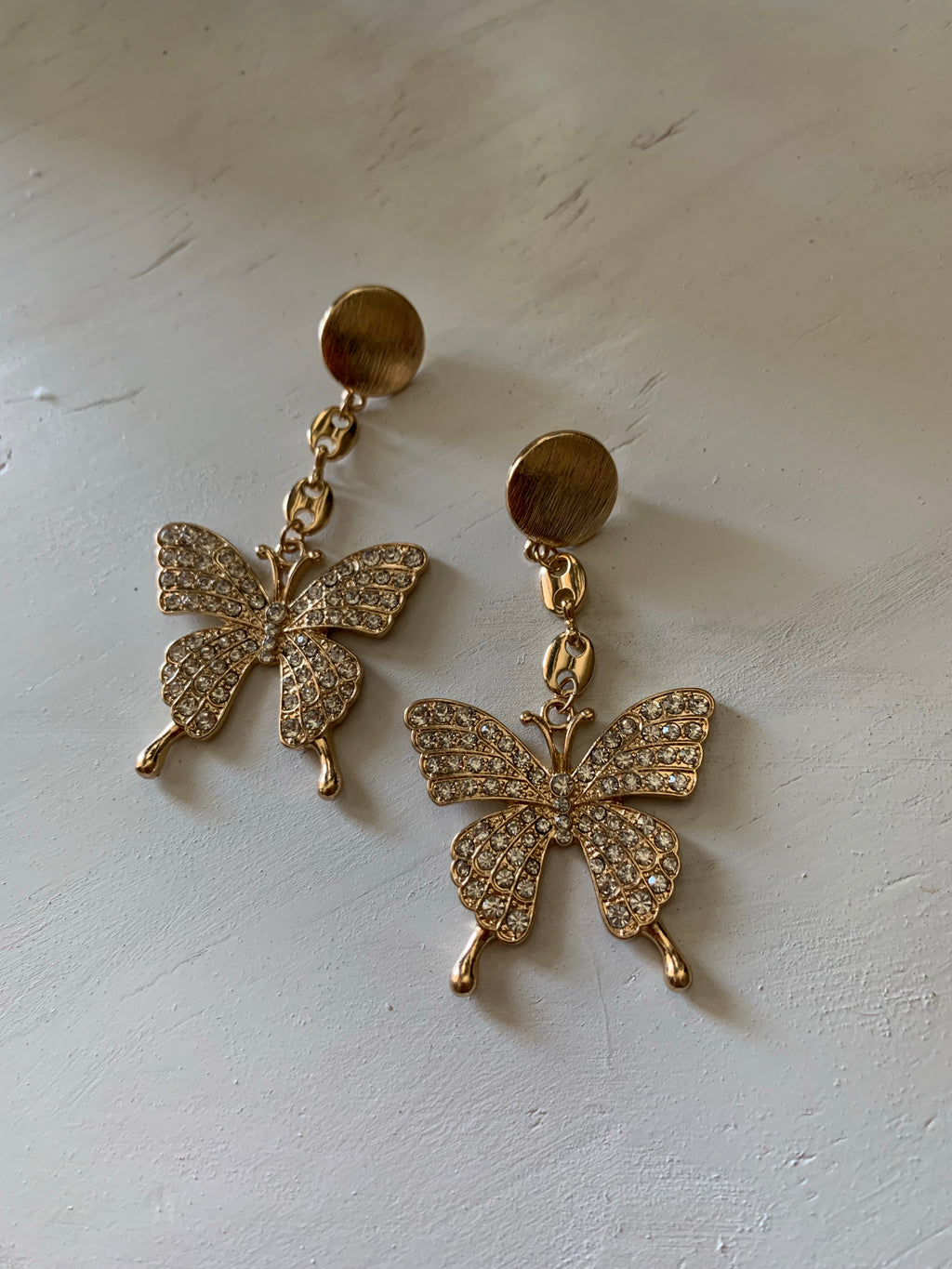 Butterfly Drip Earrings
