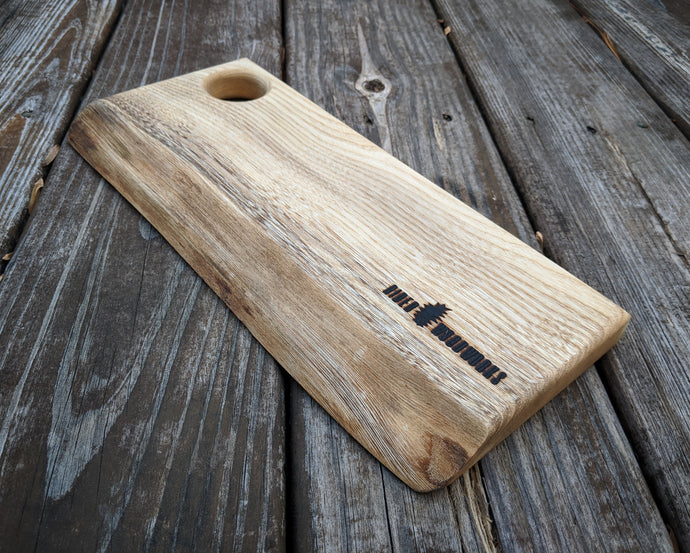 Live Edge Hackberry Serving Board