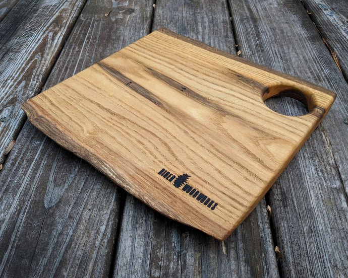 Live Edge Sassafras Serving Board