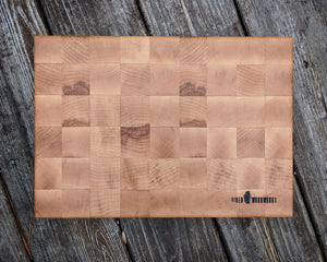 """The Jesse"" End Grain Cutting Board"