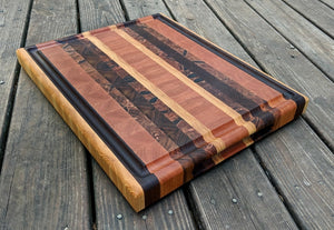 """The Billy"" - End Grain Cutting Board"