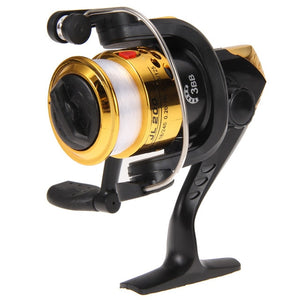 Fishing Reals Aluminum Body Spinning Reel High Speed G-Ratio 5.2:1 Fishing Reels with Line Copper rod rack drive Fish Tools EA14