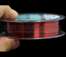 Load image into Gallery viewer, JACKFISH 100M Fluorocarbon Fishing Line  red/clear two colors 4-32LB Carbon Fiber Leader Line  fly fishing line pesca