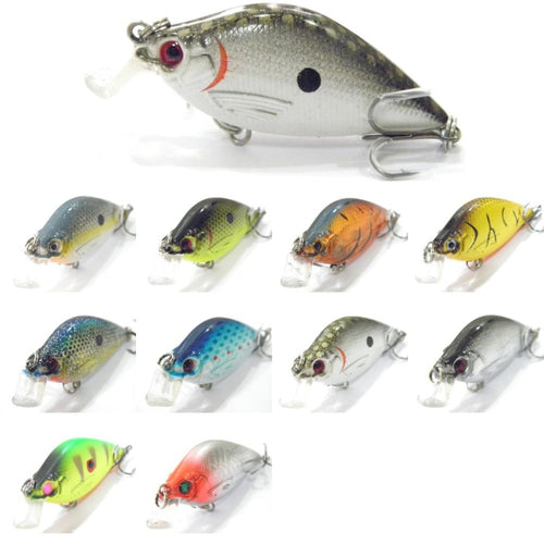 wLure 6.4cm 7g Crankbait Hard Bait Carp Fly Fishing Fresh Water Sea Insect Bait Fake Lure Fishing Lure C503