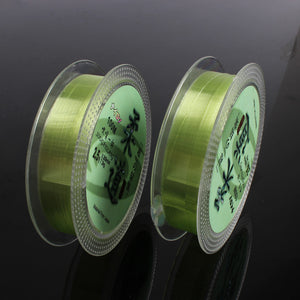 100m Fluorocarbon Fishing Line 0.6#-7# Leader Wire Fishing Cord Accessories the Flurocarbone Winter Rope Fly Fishing Lines