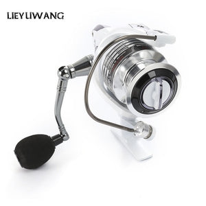 Free Shipping LIEYUWANG 13 + 1BB 5.1:1 Spinning Fishing Reel with Exchangeable Handle Automatic folding for Casting Line