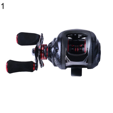 18BB Left Right Hand Lure Caster Fishing Bait Casting Reel with One Way Clutch