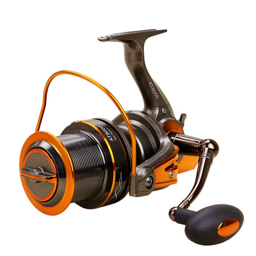 13+1 BB Fishing Reel Left/Right Interchangeable Collapsible Handle Fishing Spinning Reel 4.6:1 Ultra Light Smooth Sea Fishing Reel