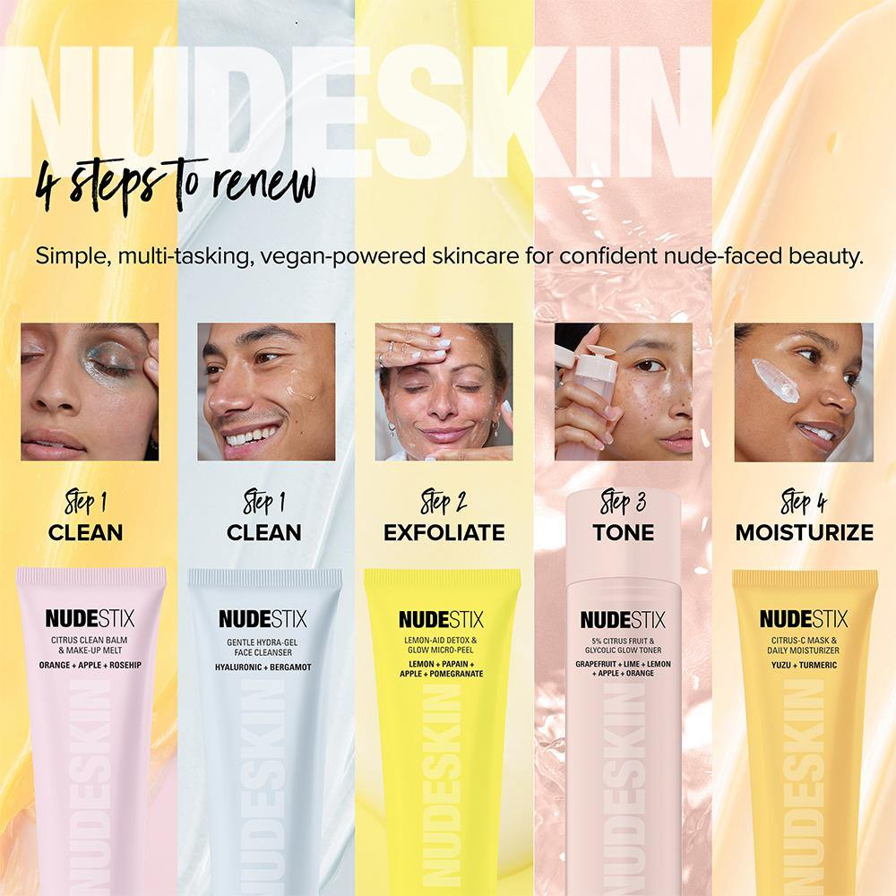 NUDESKIN - Gentle Hydra-Gel Face Cleanser - Emerage Cosmetics