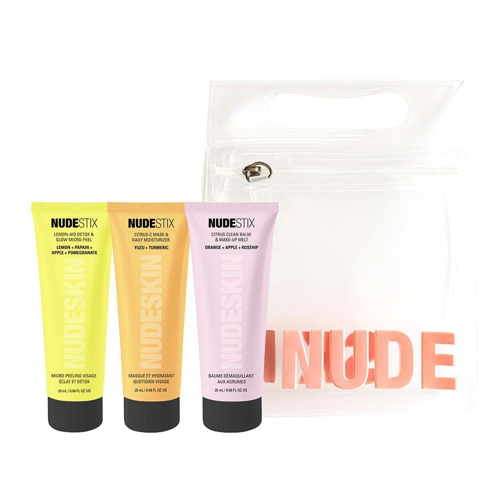 NUDESKIN 3-Step: Citrus Renew Set - Emerage Cosmetics