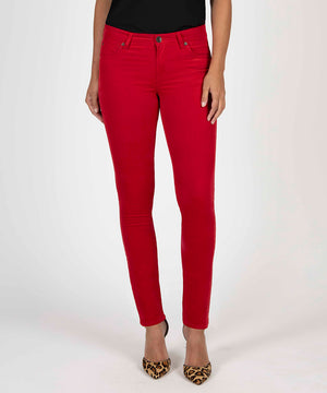 Diana Relaxed Fit Corduroy Skinny (Red)-Denim-Kut from the Kloth