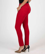 Diana Relaxed Fit Corduroy Skinny (Red) - Final Sale Hover Image