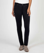 Diana Relaxed Fit Corduroy Skinny (Dark GREY) Main Image