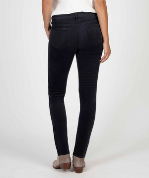 Diana Relaxed Fit Corduroy Skinny (GREY)-Denim-Kut from the Kloth