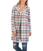 Jaclyn Plaid Coat Main Image