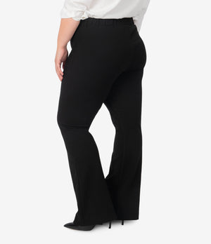 Teresa Flare Trouser, Plus (Black)-New]-Kut from the Kloth