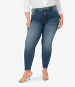 Donna High Rise Ankle Skinny, Plus (Eco Friendly - Cumulated Wash) Main Image