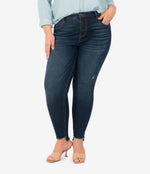 Connie High Rise Slim Fit Ankle Skinny, Plus (Budding Wash) Main Image