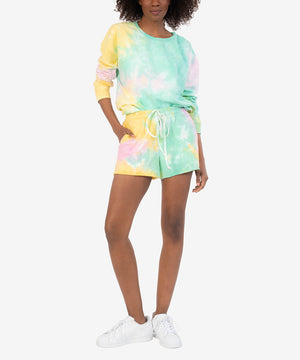 Melody Tie Dye Drawcord Short