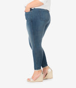 Donna High Rise Fab Ab Ankle Skinny, Plus (Allowed Wash) Hover Image