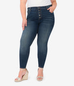 Mia High Rise Slim Fit Skinny, Plus (Goodly Wash) Main Image