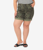 Catherine Boyfriend Short, Plus (Animal Print) Main Image