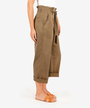 Katie Twill Pant (Olive)-Kut from the Kloth