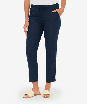 Gaerwen Drawcord Pant (Navy)-New-Kut from the Kloth