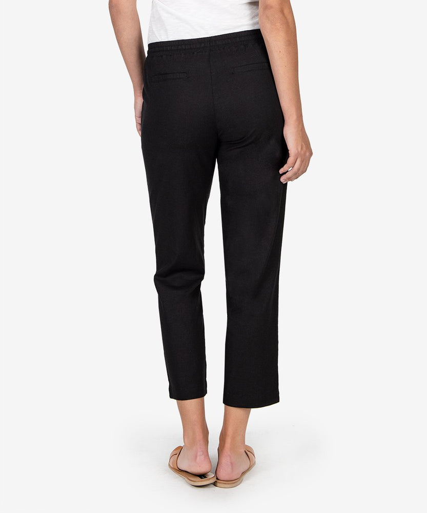 Gaerwen Drawcord Pant (Black)-Kut from the Kloth
