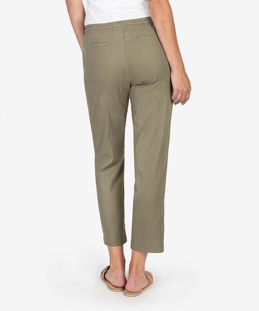 Gaerwen Drawcord Pant (Olive)-Kut from the Kloth
