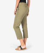 Harmony Crop Trouser (Light Olive) Hover Image