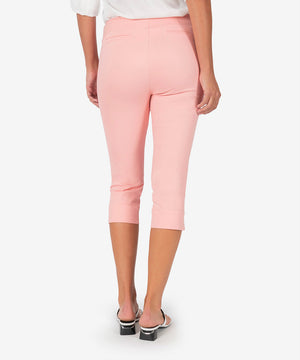 Lisa Capri Pant (Light Coral)-New-Kut from the Kloth