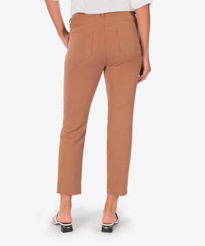 Zooey Drawcord Straight Leg Pant (Spice)-New-Kut from the Kloth