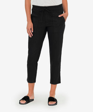 Drawcord Pant (Black)-New-Kut from the Kloth