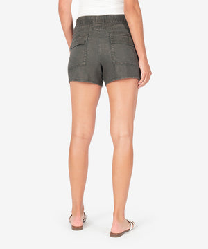 Drawcord Short (Olive)-New-Kut from the Kloth