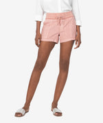 Ilina Drawcord Short (Dusty Rose) Main Image