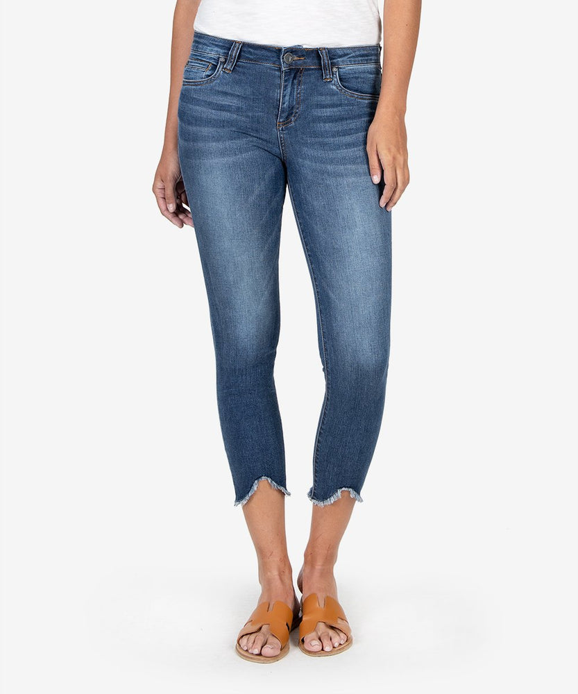 Connie Slim Fit Crop (Specific Wash)-Kut from the Kloth