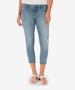 Connie Slim Fit Crop Skinny (Decency Wash) Main Image