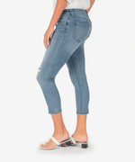 Connie Slim Fit Crop Skinny (Decency Wash) Hover Image