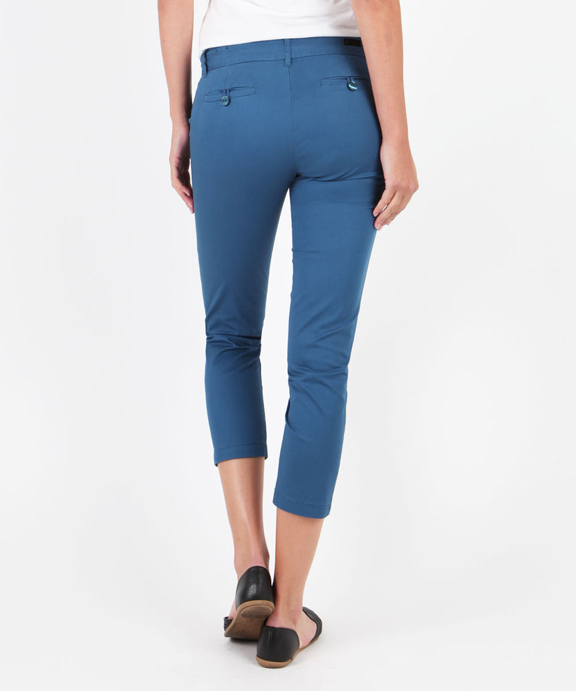 Relaxed Crop Trouser (BLUE)