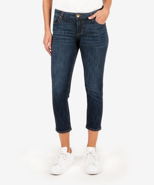 Maggie Skinny Crop Boyfriend (Originate Wash)-New-00-Originate W/Euro Base Wash-Kut from the Kloth