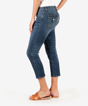 Maggie Skinny Crop Boyfriend (Remedy Wash)-New-Kut from the Kloth