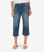 Greta High Rise Crop Culotte, Exclusive (Alacrity Wash) Main Image