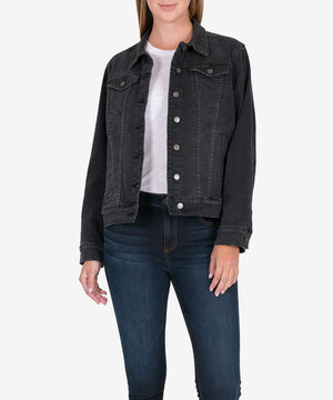 Emma Denim Boyfriend Jacket-New-Kut from the Kloth