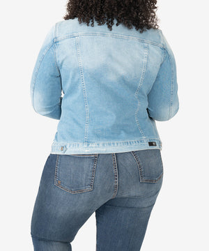 Lily Denim Jacket, Plus (Adorn Wash)-Kut from the Kloth