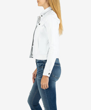 Rene Jacket (White)-New-Kut from the Kloth