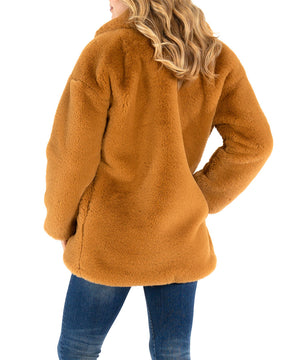 Noelia Faux Fur Collar Coat, Exclusive-New-Kut from the Kloth